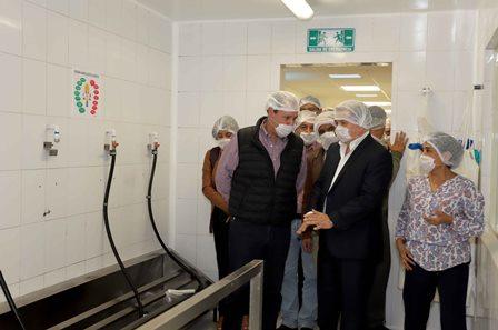 Inauguran autoridades empresa Viansa Alimentos