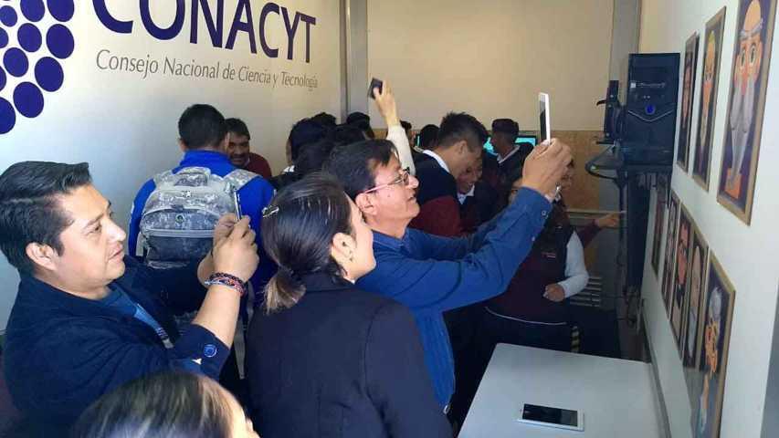 Atiende Camión Itinerante De La Ciencia a 296 estudiantes del Emsad en Yauhquemehcan