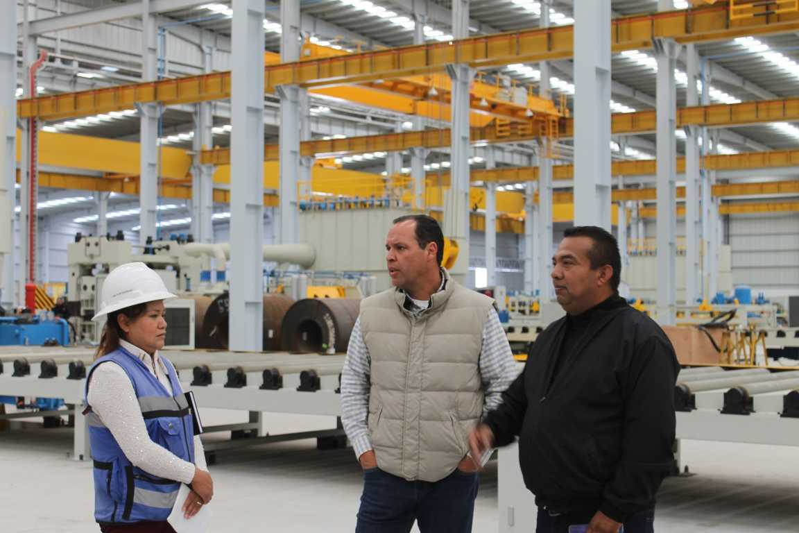 Presenta avances la nave industrial de la Empresa Aceros del Toro