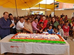 Conmemora Sedesol Día Mundial de la Alimentación en Tequexquitla