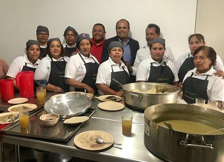 En marcha comedor comunitario en Santa Cruz Tlaxcala