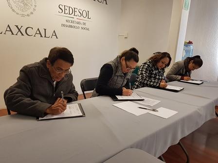 Signan convenio de colaboración Inapam- Sedesol-Diconsa