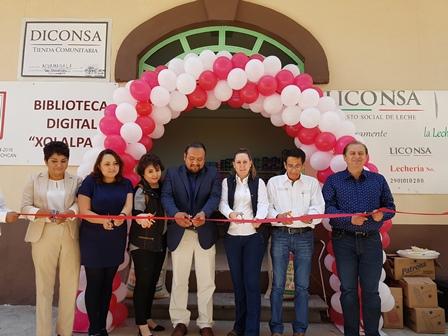 Reabre Sedesol tienda Diconsa en Tetlanohcan