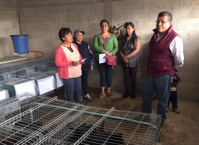 Invierte Sefoa en proyectos para mujeres y jóvenes rurales