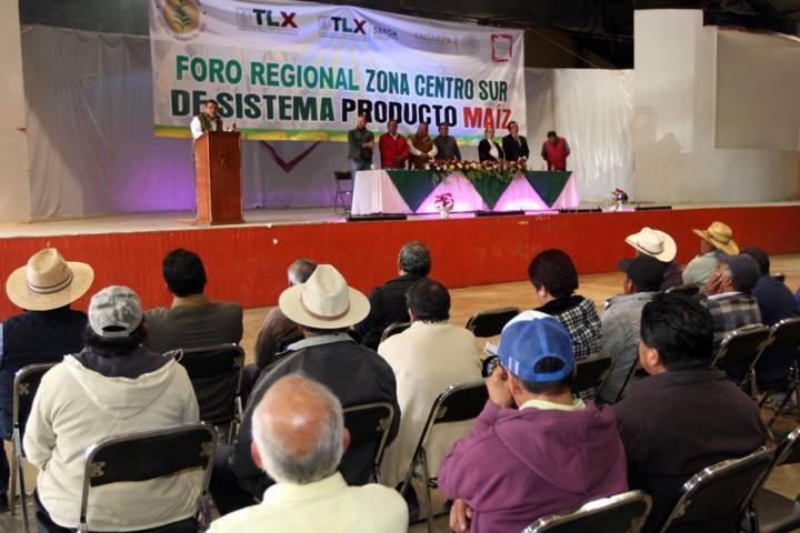 Inaugura SEFOA Foro Regional de Maíz Zona Centro Sur