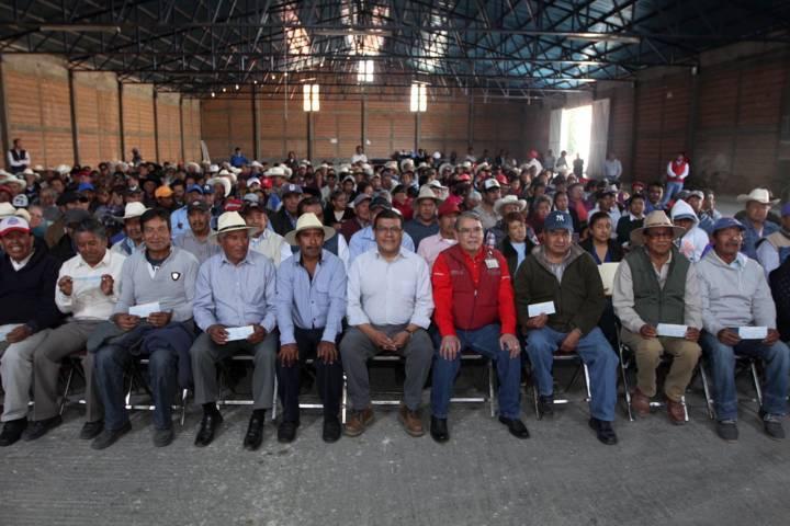 Realiza SEFOA segunda entrega de apoyos para atención a siniestros agropecuarios