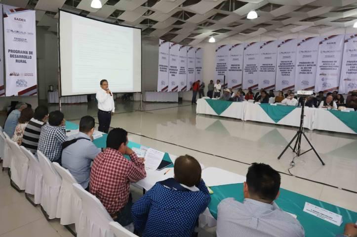 Realizan Primera Sesión del Consejo Estatal para el Desarrollo Rural Sustentable 2019