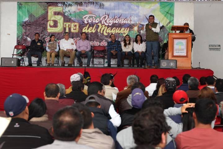 Inaugura SEFOA Quinto Foro Regional del Maguey