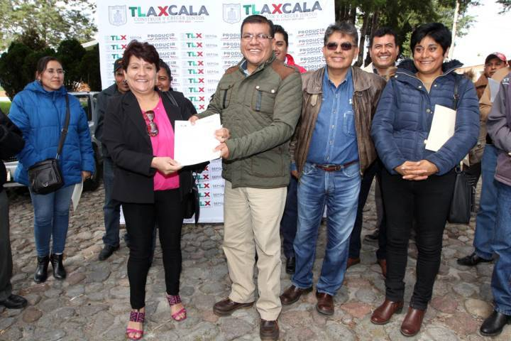 Entrega SEFOA cartas de apoyo a 113 ovinocultores