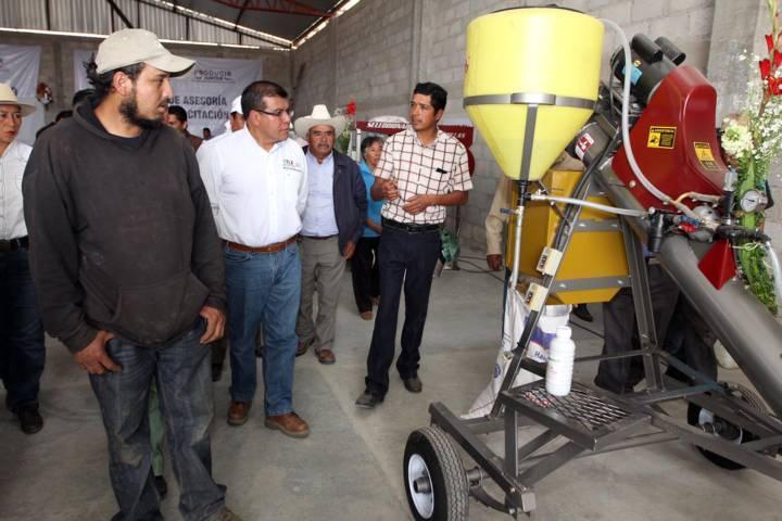Presenta SEFOA resultados de proyectos integrales de desarrollo agropecuario