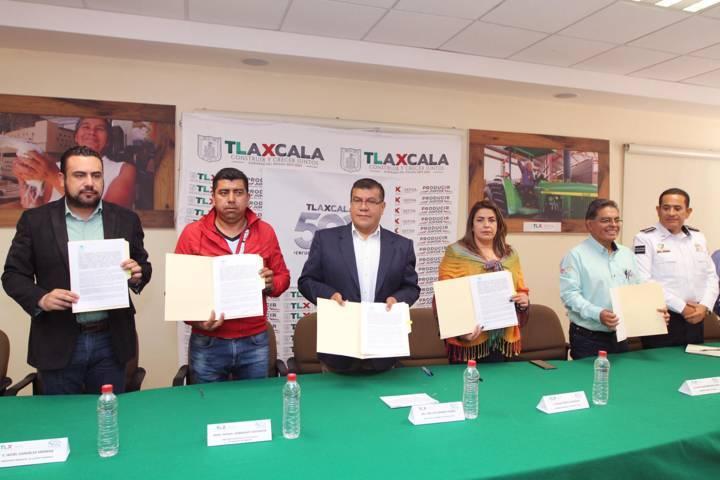 Renueva SEFOA convenio con municipios para establecer centros expedidores de guías de tránsito