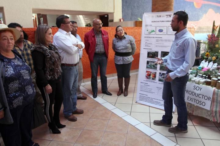 Muestra Sefoa innovaciones en cadenas agrícolas de Tlaxcala