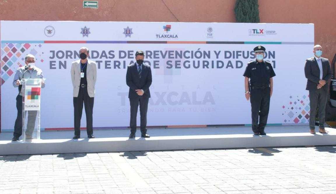 Inician Jornadas de prevención y difusión en materia de seguridad en la capital