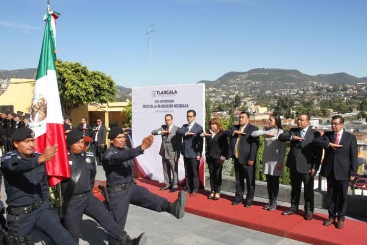 Conmemoran CVIII Aniversario del Inicio de la Revolución Mexicana