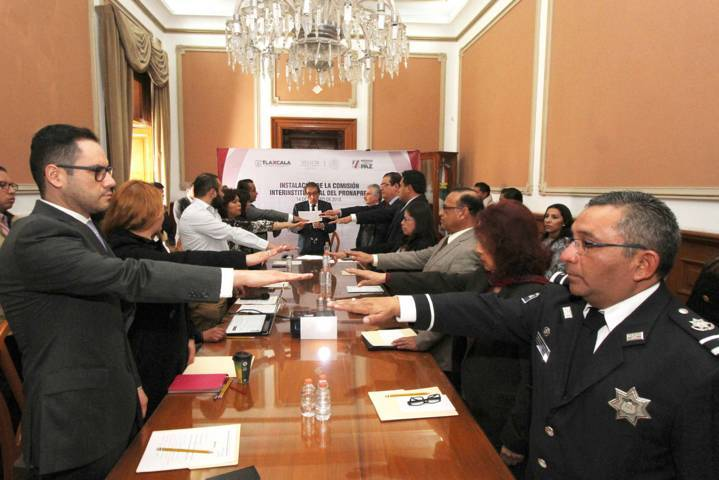 Instalan Comisión Estatal para Prevención Social de Violencia