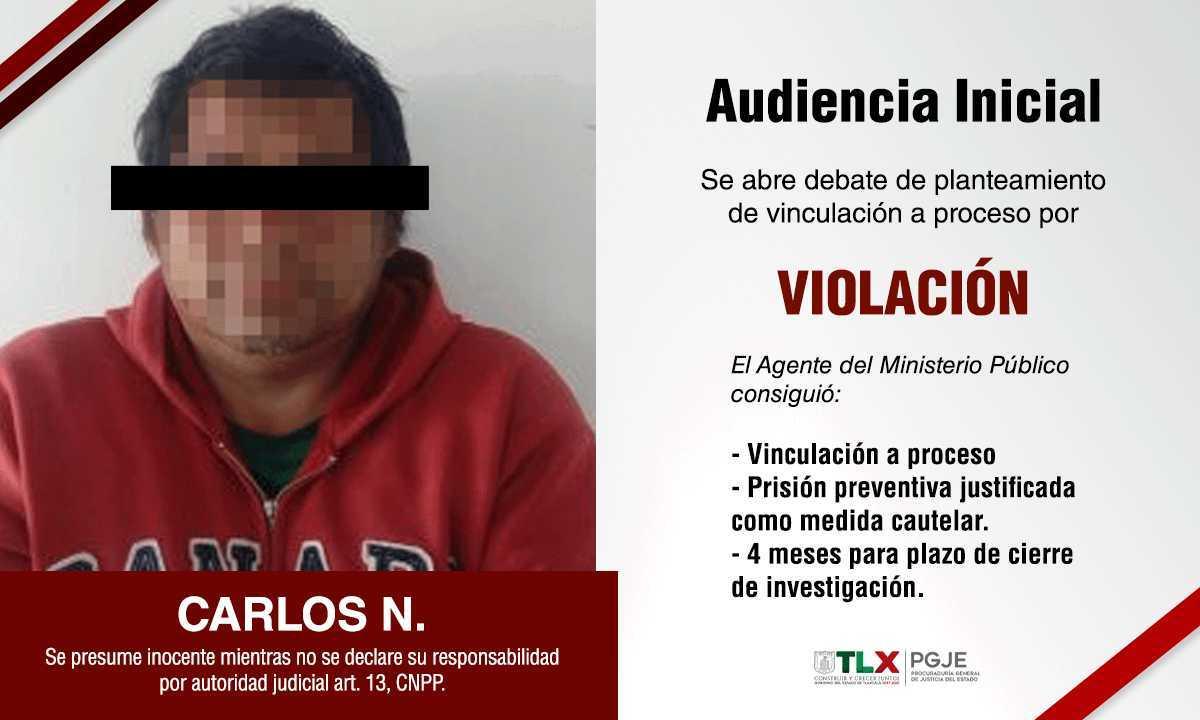 Detienen a violador de su propia hija en Teolocholco