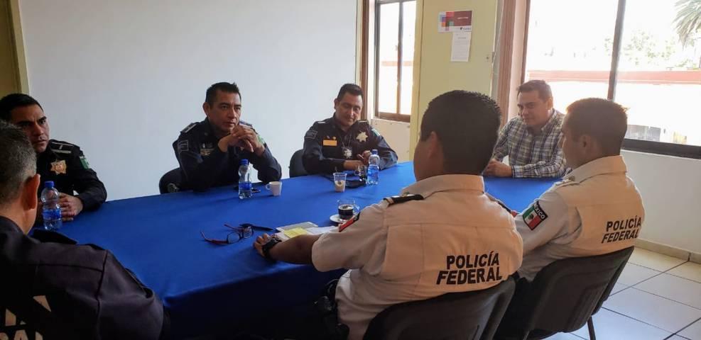 Impulsan Seguridad Pública municipal de Tlaxcala y Gendarmería trabajo coordinado