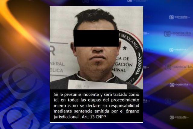 Obtiene  FGR prisión preventiva contra una persona por el delito de robo y secuestro exprés