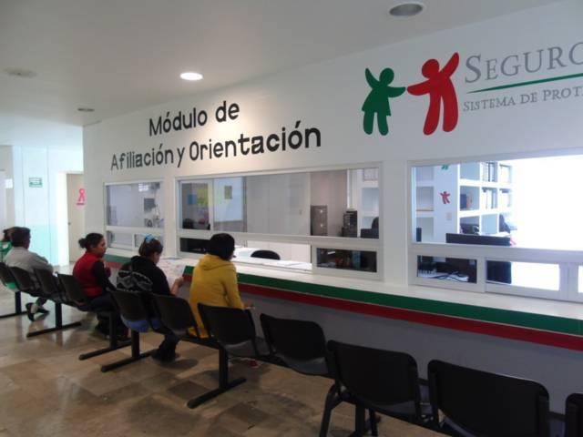 Cuenta Tlaxcala con 27 módulos del Seguro Popular