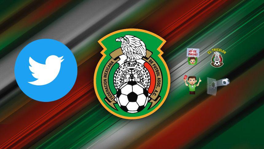 Twitter lanza un emoji para apoyar a la Selección Nacional de México