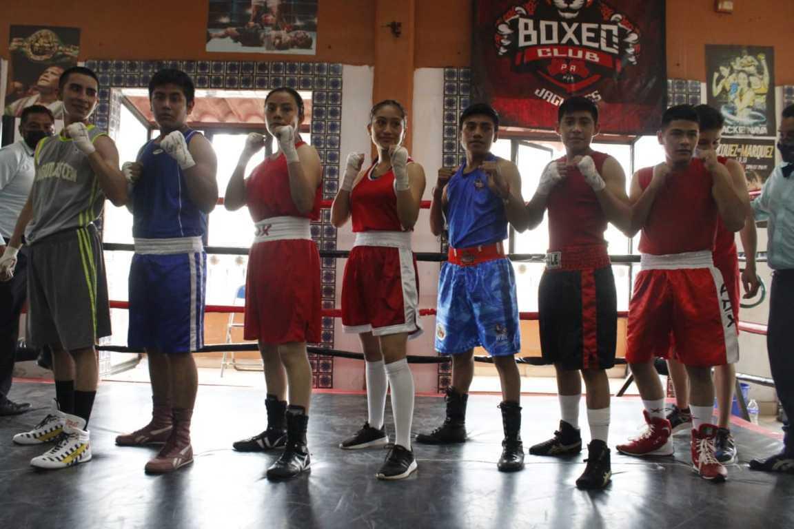 Conforman selección tlaxcalteca de boxeo que participará en los Juegos Nacionales Populares 2021