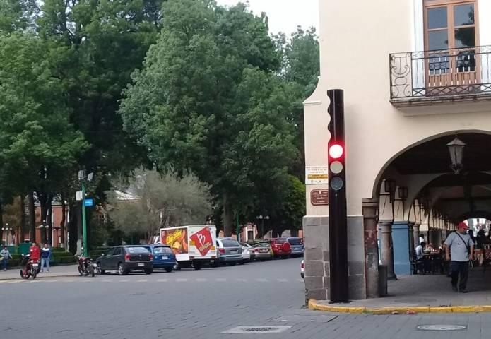 Instalan Semáforo Inteligente con GPS en la capital tlaxcalteca