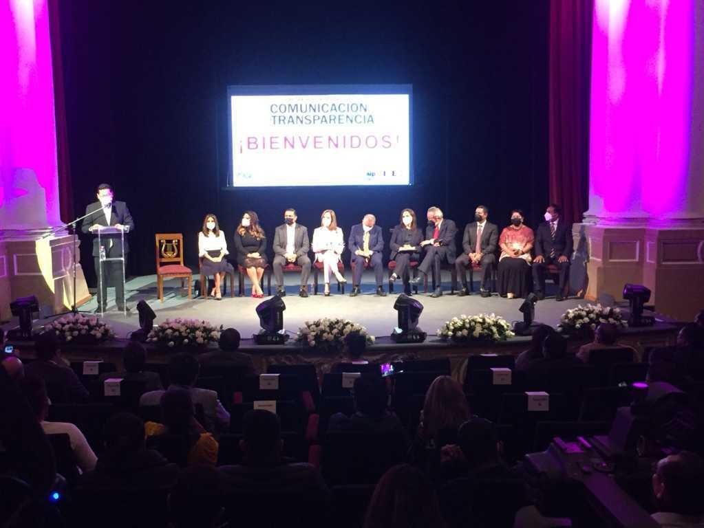 Asiste Diputada Blanca Águila a la inauguración de la primera semana de la comunicación y transparencia
