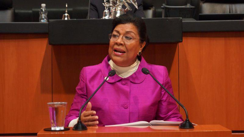 Dispuesta Palafox en apoyar a Mena; pertenece a comisión de Salud y Educación del Senado