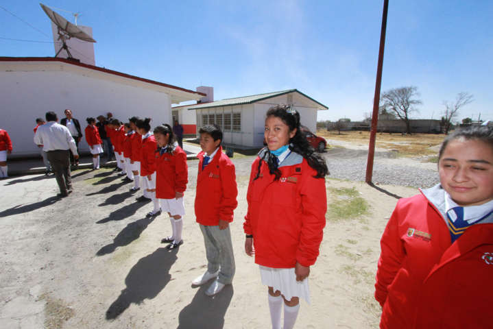 Los últimos seis años se pusieron en operación 526 escuelas tiempo completo