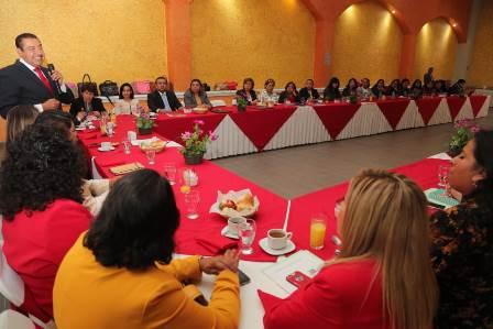 Sostiene Florentino reunión con jefes de sector y supervisores