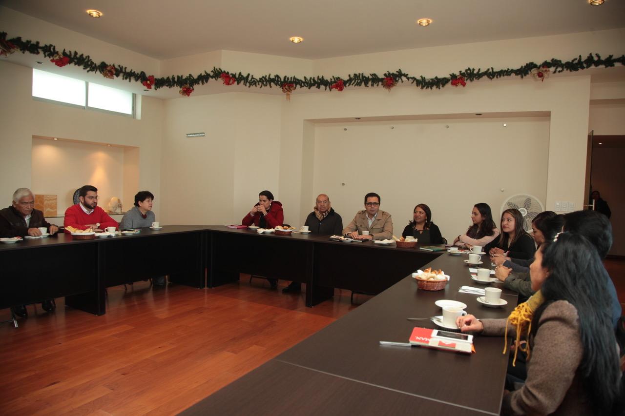 Encabeza MCH primera reunión de trabajo del año con directivos de la SEPE-USET