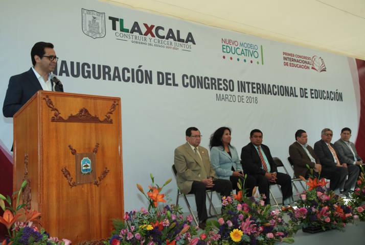 Inaugura MCH Primer Congreso Internacional de Educación
