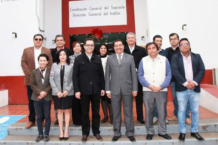 Fortalecerán SEPE e Icatlax trabajo coordinado en 2019