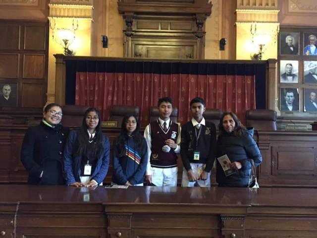 Estudiantes tlaxcaltecas realizan intercambio académico con Indianápolis