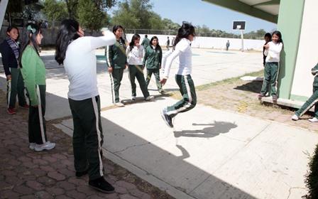 Refuerzan programa de convivencia escolar en San Pablo del Monte