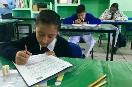 Promueven en Tlaxcala la lectura y la ortografía en educación básica