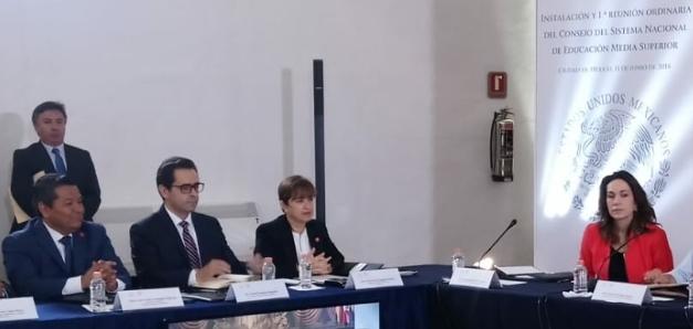 Tlaxcala se integra al Consejo del Sistema nacional de Educación Media Superior