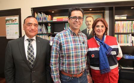 Se alista sector educativo para apoyar colecta de la Cruz Roja