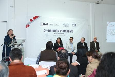 Celebran en Tlaxcala reunión de evaluación y mejora educativa