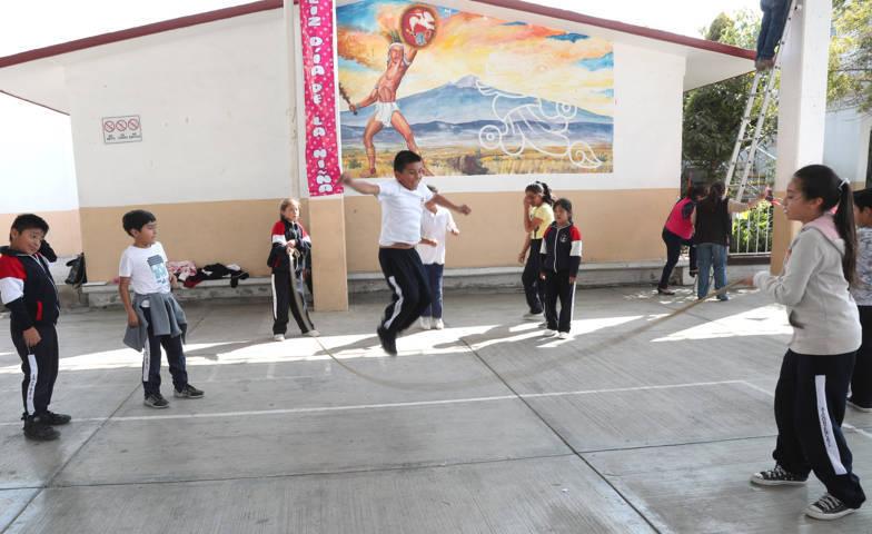Participaron alumnos y maestros en Semana Nacional de la  Cultura Física y Deporte