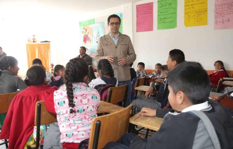 Equipa SEPE albergue escolar en San Pablo del Monte