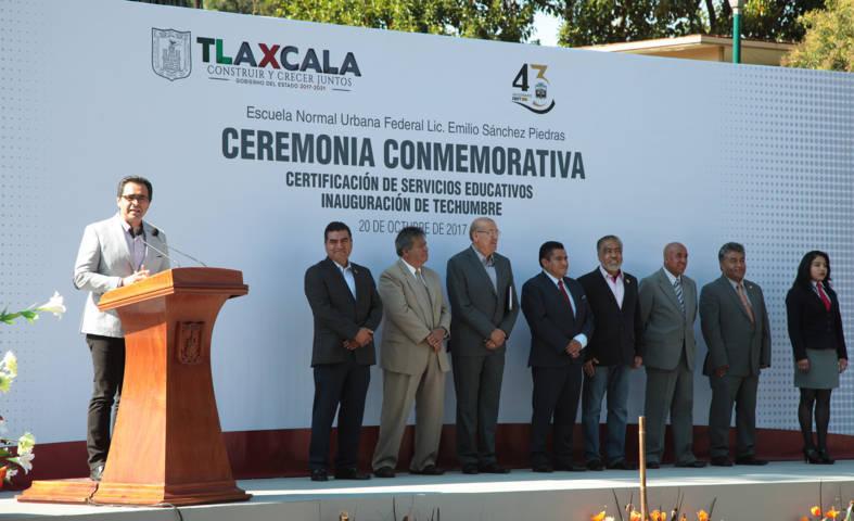 Obtiene Normal Urbana Lic. Emilio Sánchez Piedras certificación ISO 9001-2015