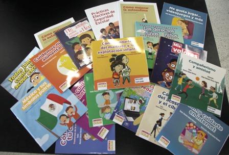 Cuentan 224 escuelas con biblioteca de convivencia escolar