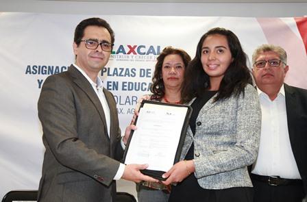Con transparencia se asignaron plazas de docentes en Tlaxcala