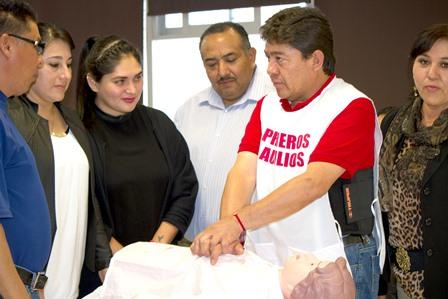 Autoridades educativas organizan curso de primeros auxilios
