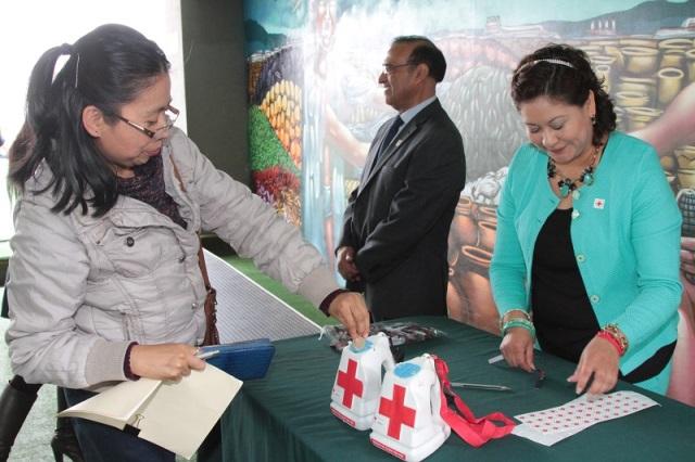 Mantienen vigente la colecta de la Cruz Roja en la USET