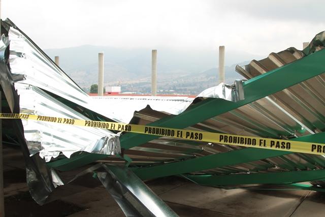 Suspenderá clases Emsad de Atotonilco por caída de techumbre
