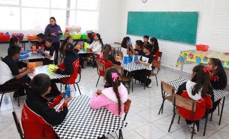Escuelas de Tlaxcala dentro del programa de fortalecimiento a la calidad educativa