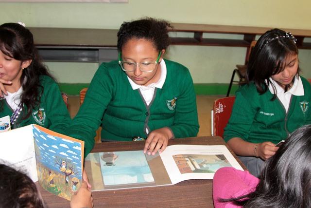 Fortalecen estrategia para incentivar la lectura en alumnos