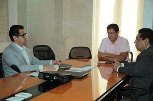 Sostiene titular de SEPE reunión de trabajo con Sinadep